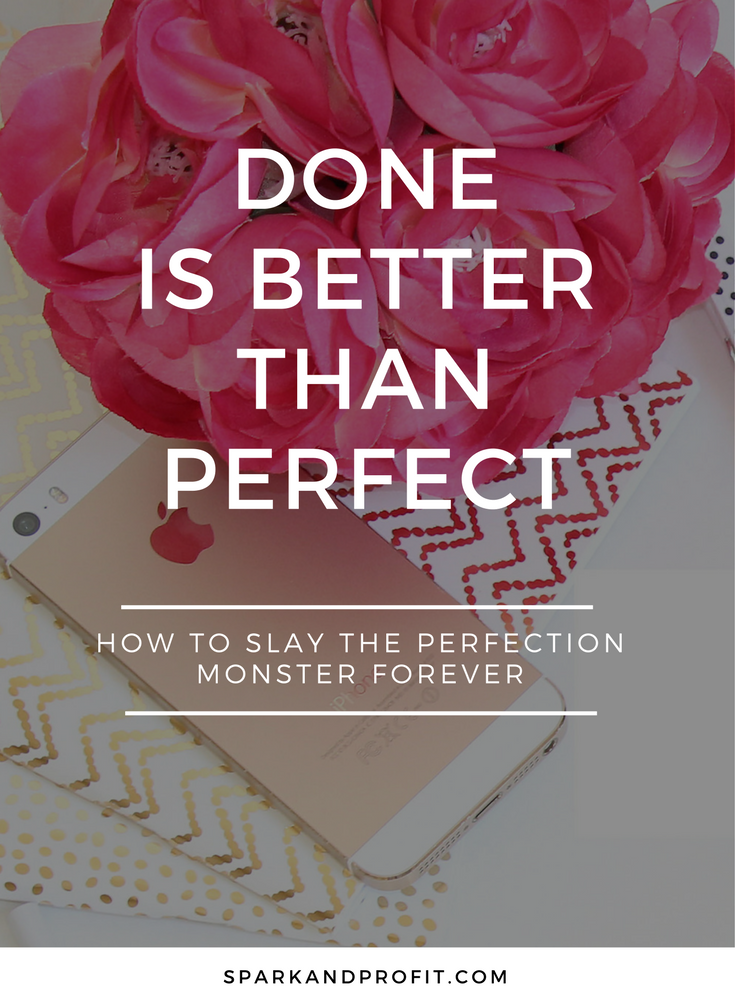 overcoming fear and perfection