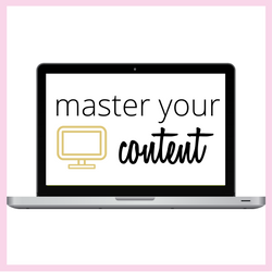 master your content