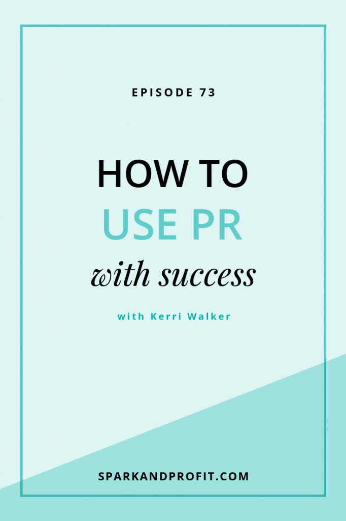 PR success with Kerri Walker